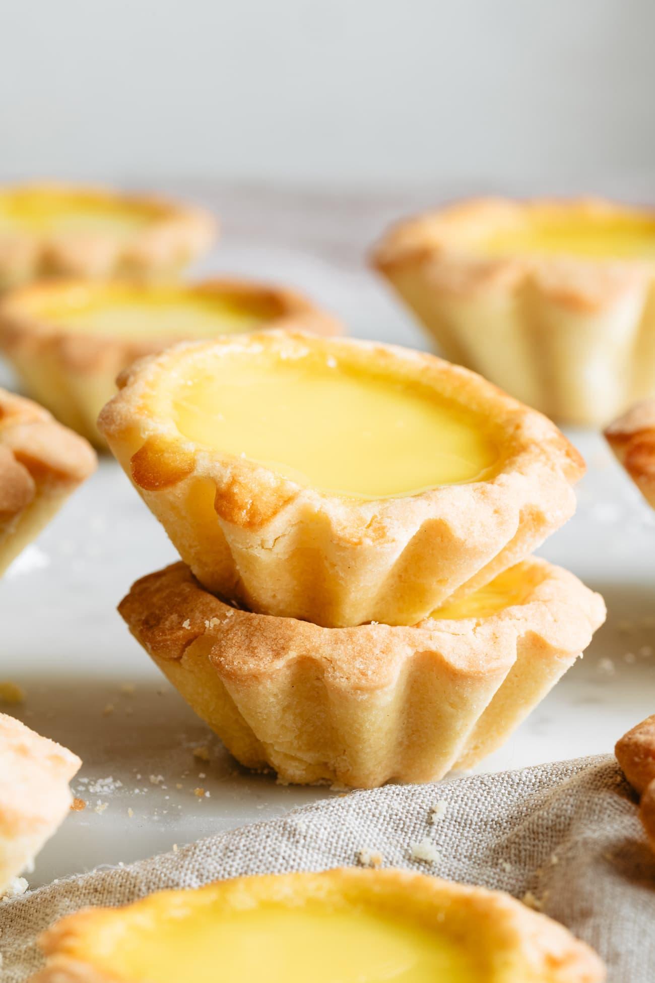 Chinese Egg Tarts Kirbie S Cravings