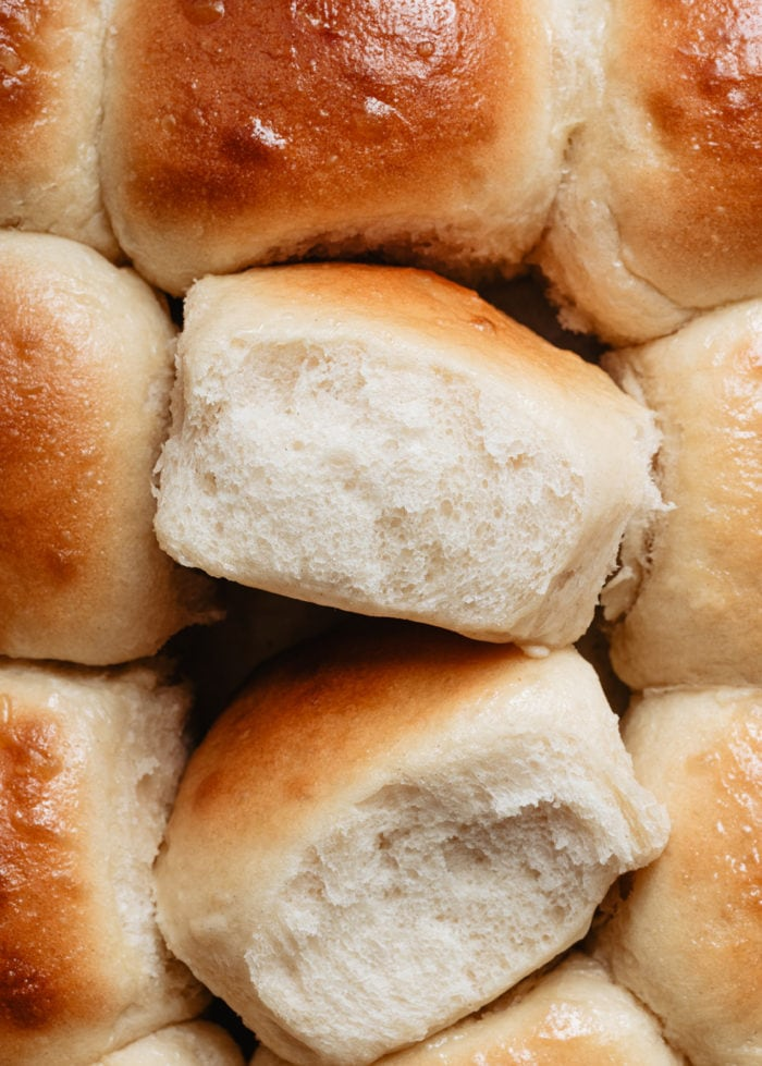 close-up photo of a roll