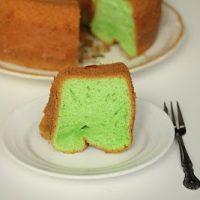 Pandan Cake Chiffon Cake Recipe Kirbie S Cravings
