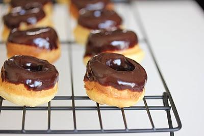 Mini Baked Donuts With Chocolate Ganache Kirbie S Cravings