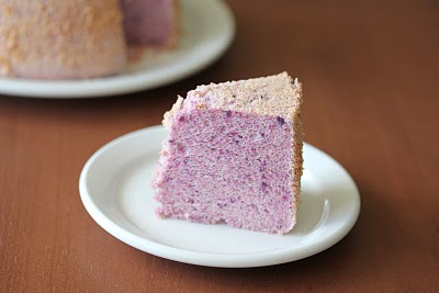 Purple Yam (ube) chiffon cake - Kirbie's Cravings