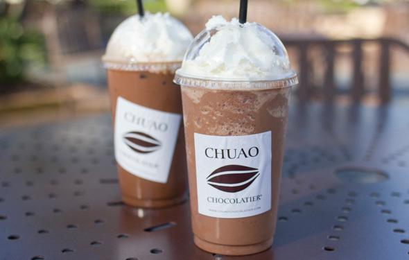 SD Magazine: Chuao Chocolatier Chocolate Drinks