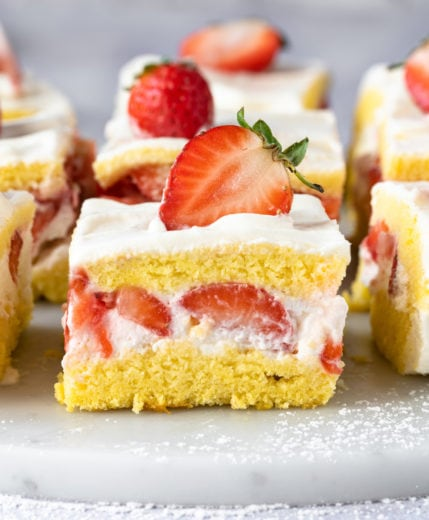 photo of a slice of cake