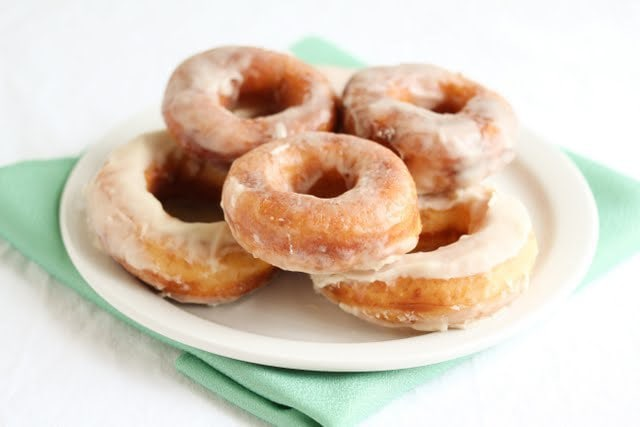 Soft and fluffy glazed donuts - Kirbie's Cravings