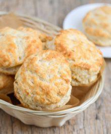 photo of 3 ingredient biscuits