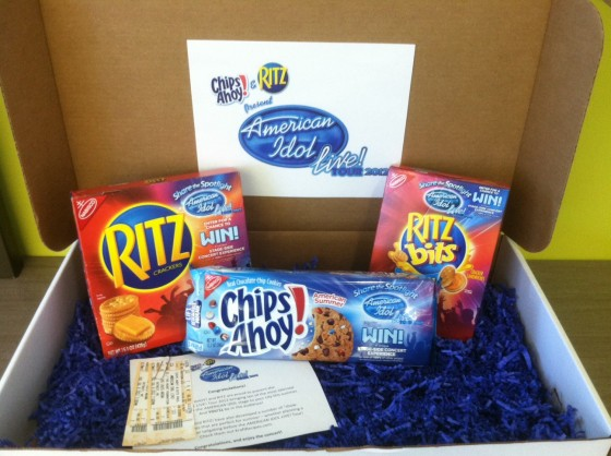 American Idol/Chips Ahoy and Ritz Giveaway