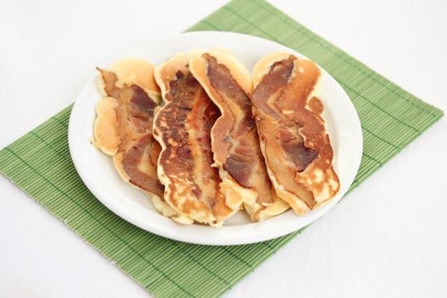 Bacon Pancake Strips - Kirbie's Cravings