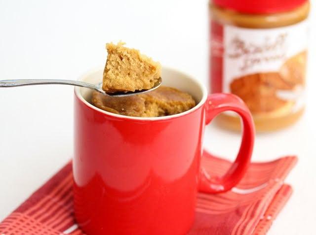 Biscoff Mug Cake Recipe
