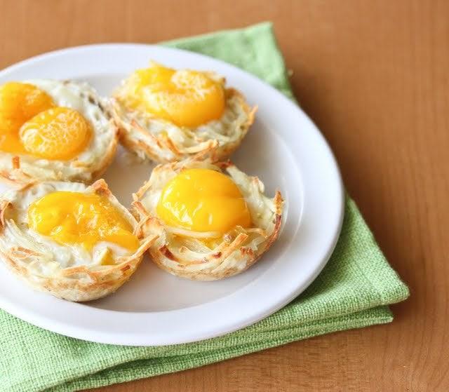 Egg Nests - Kirbie's Cravings