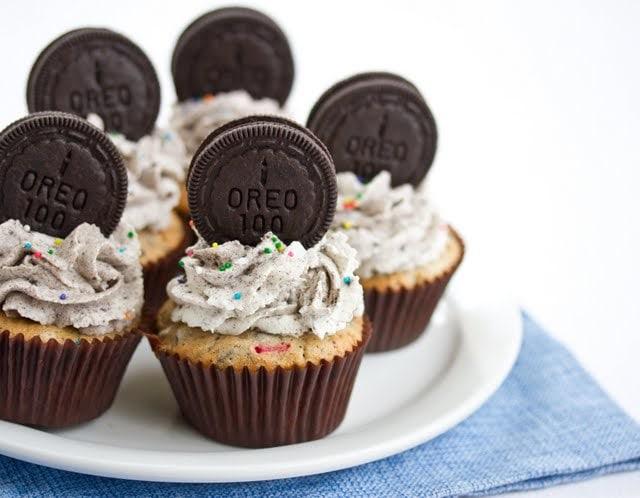 Oreo Funfetti Cupcakes - Kirbies Cravings