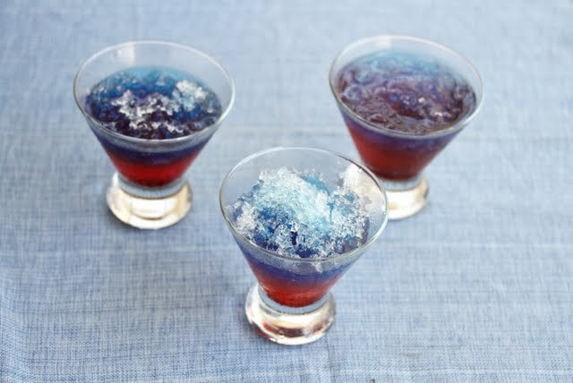 Snow Cone Drinks For July 4th Kirbie S Cravings
