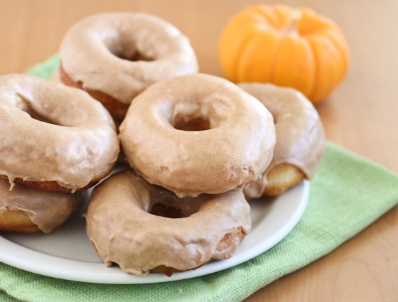 Pumpkin Spice Doughnuts - Kirbie's Cravings