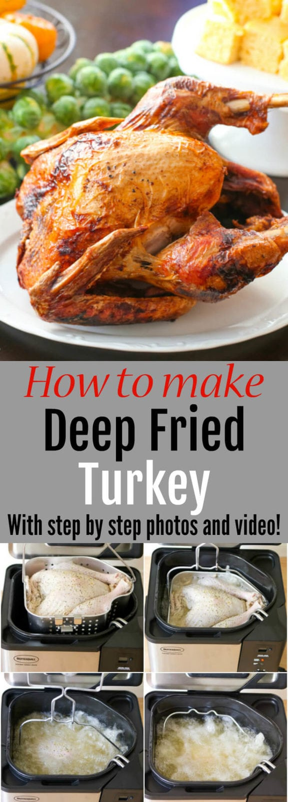 How to make Deep Fried Turkey