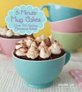 photo of the book 5 Minute Mug Cakes