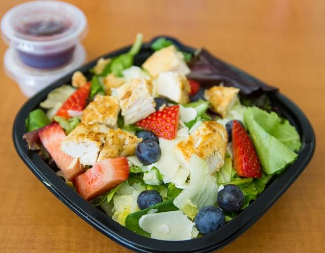Wendys Menu Salads Wendy's Headquarters V...
