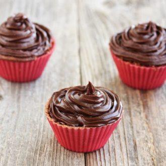 Microwave Chocolate Cupcakes - Kirbie's Cravings