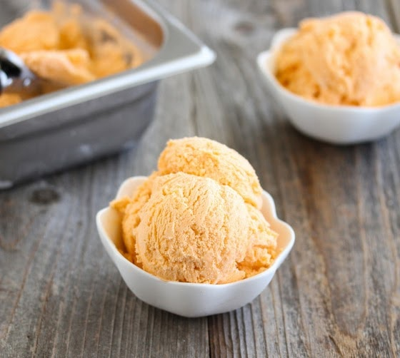 Thai Tea Ice Cream - Kirbie's Cravings
