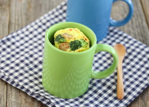 Omelet in a mug