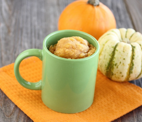 photo of a Pumpkin Cinnamon Mug Cake