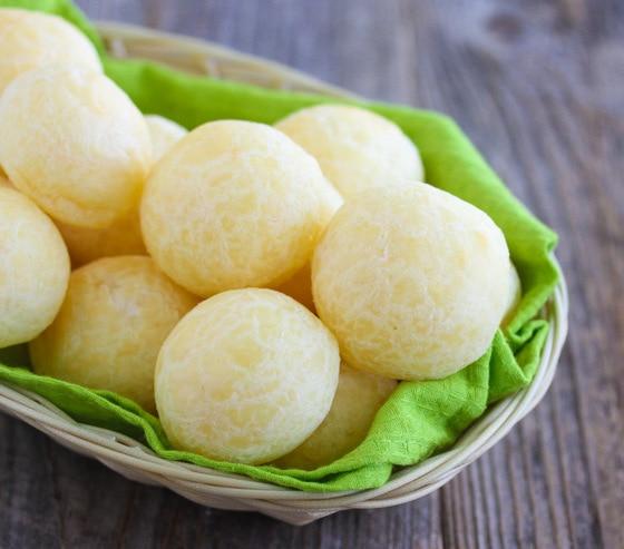 Brazilian Cheese BreadsKirbies Cravings