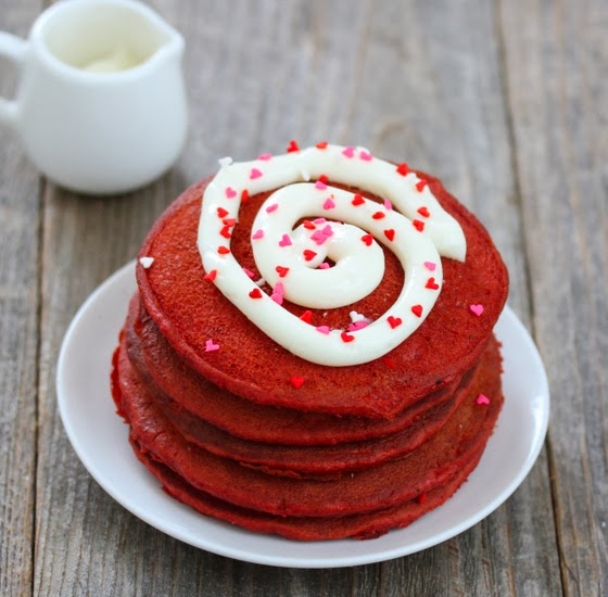 Red Velvet Pancakes - Kirbie's Cravings