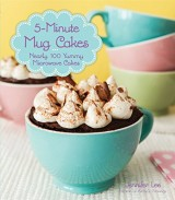photo of the cover of 5-Minute Mug Cakes cookbook