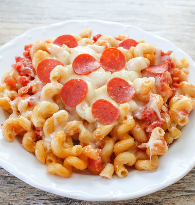 One Pot Pizza Pasta