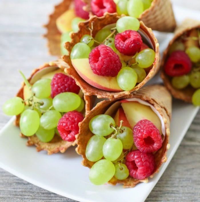 photo of fruit cones