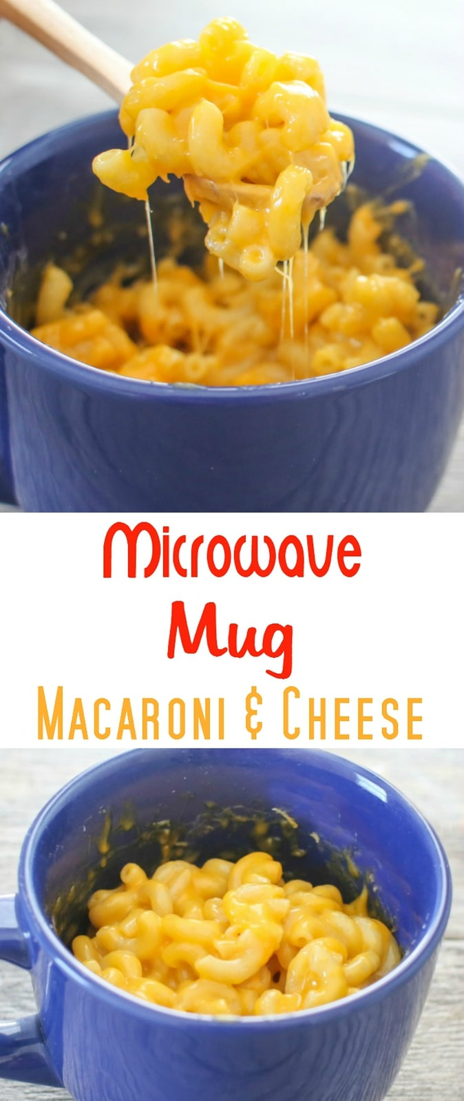 Microwave Macaroni and Cheese in a Mug. This macaroni and cheese is ready in about 5 minutes!