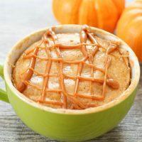 pumpkin spice mug cake.