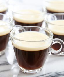 photo of coffee jelly