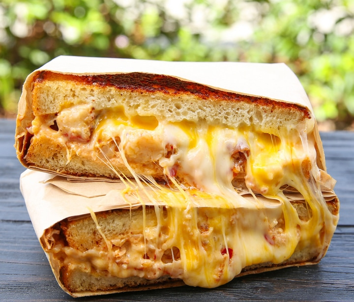 Grater Grilled Cheese - Kirbie's Cravings