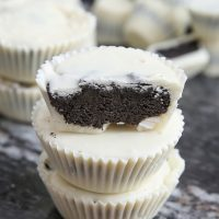 cookies and cream candy cups