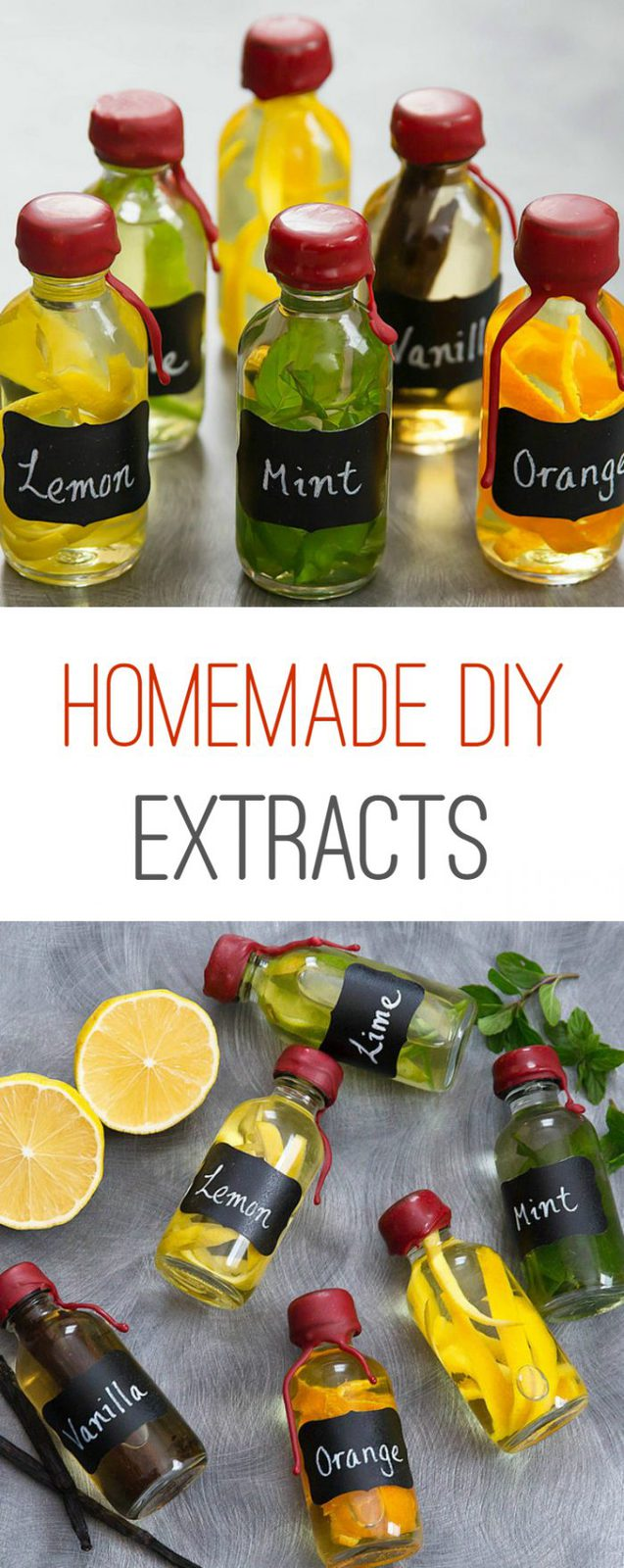 DIY Homemade Extracts