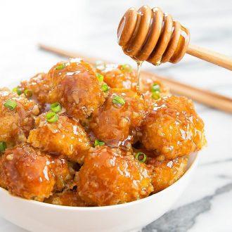 Honey Garlic Cauliflower