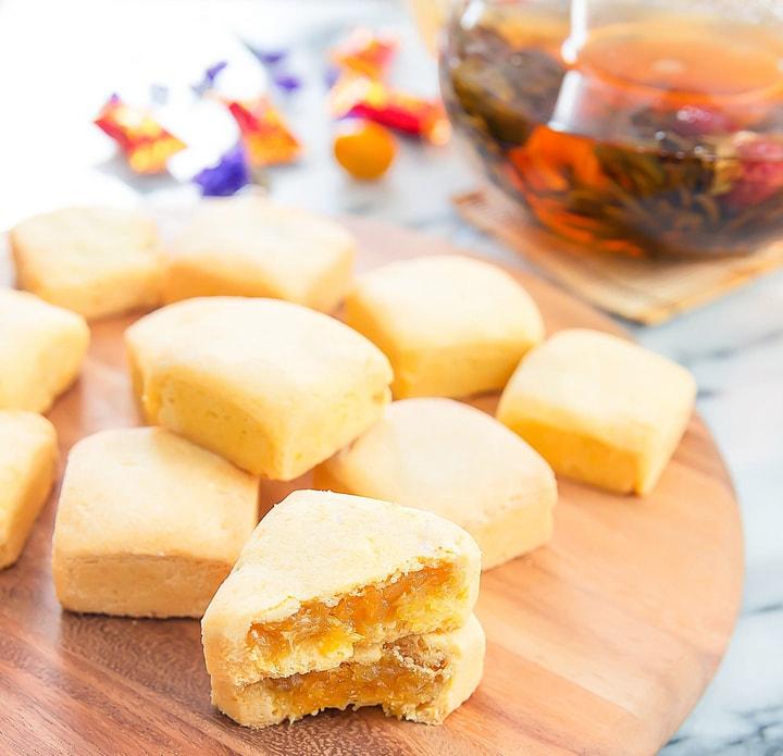 Taiwanese Chinese Pineapple Cakes Kirbie S Cravings