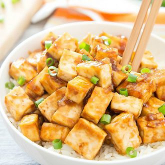 Crispy Baked Garlic Tofu Kirbie S Cravings