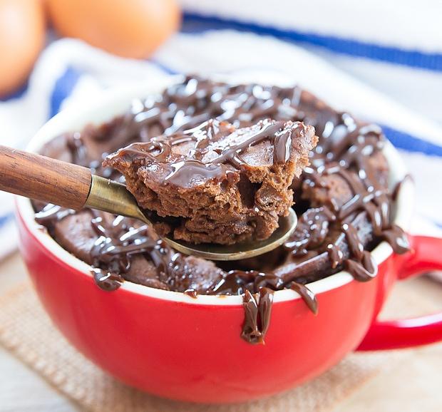Keto Cake In A Mug Flourless Chocolate