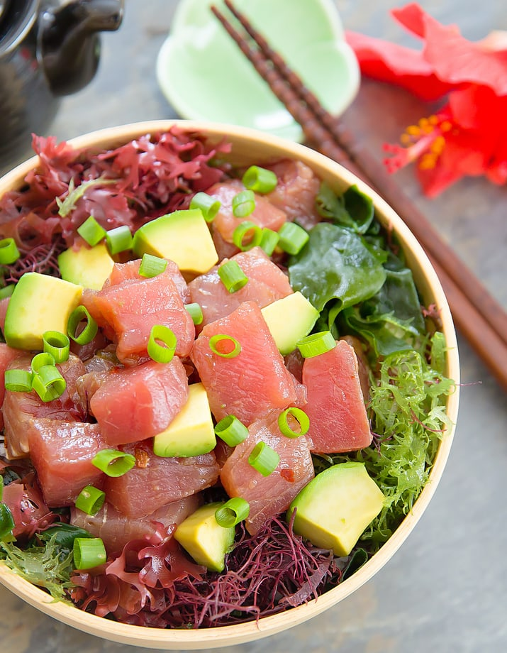 Poke bowl kirbie 39 s cravings for Big fish little fish poke