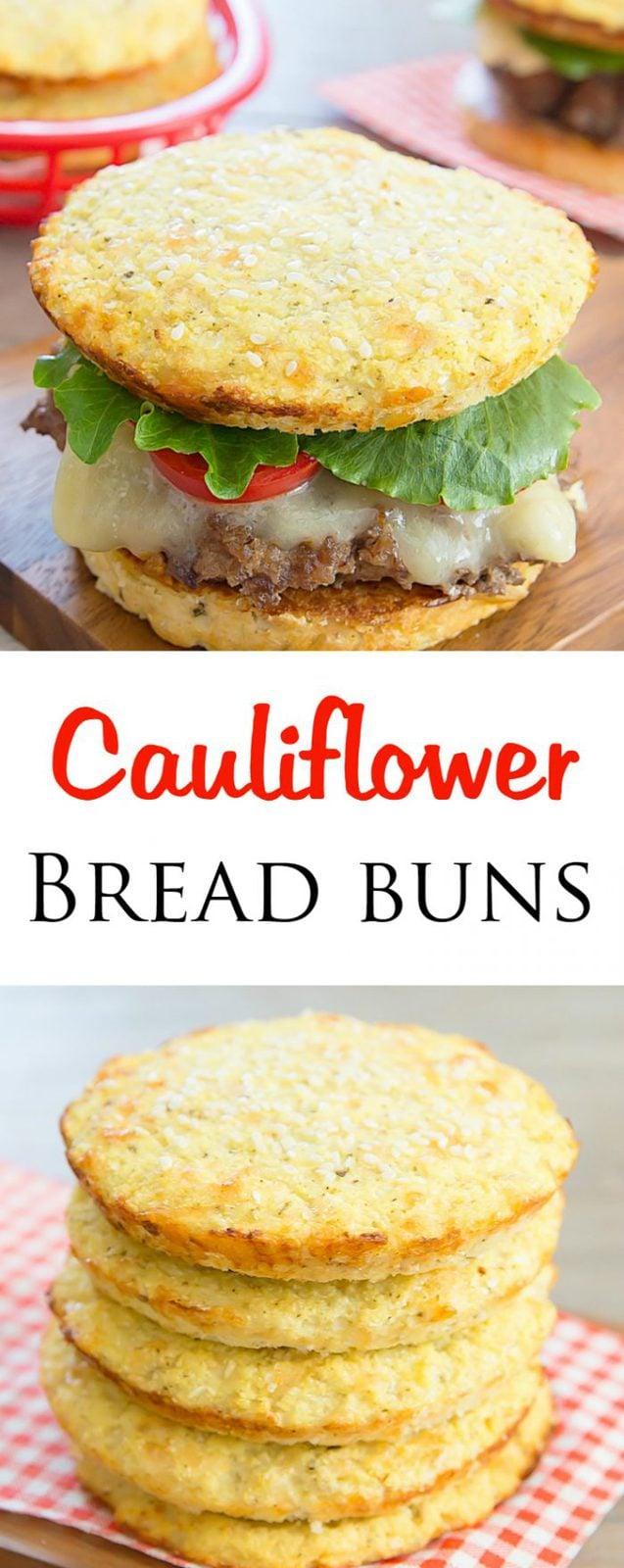 Gluten Free Cauliflower Bread Buns
