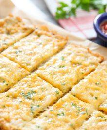 cauliflower breadsticks.