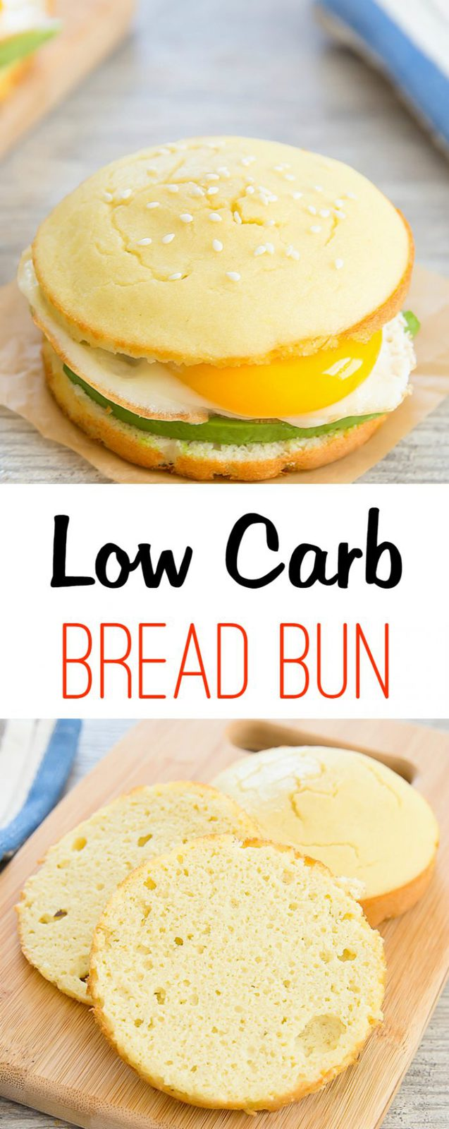 Low Carb and Gluten Free Bread Bun