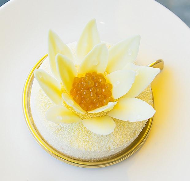 White Flour Jasmine Cake