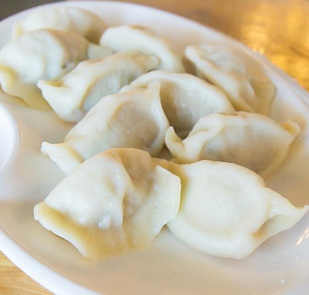 Beef Mushroom Dumplings