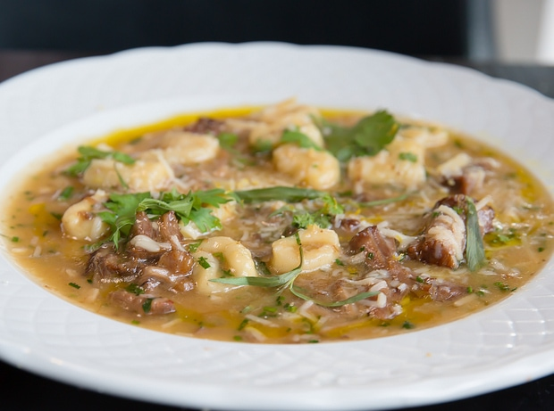 Oxtail Gnocchi from Herb & Wood