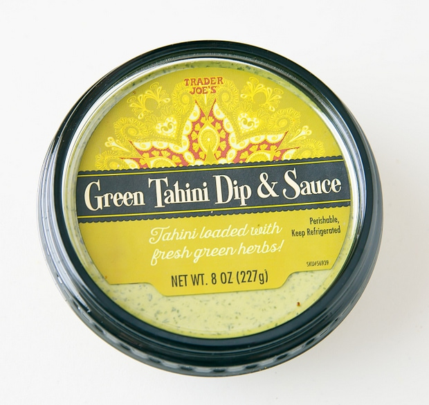 photo of a package of Green Tahini Dip and Sauce