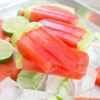 photo of watermelon ice pops