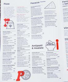 menu at Ambrogio15