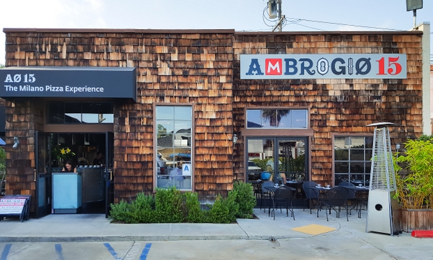 photo of the outside of Ambrogio15