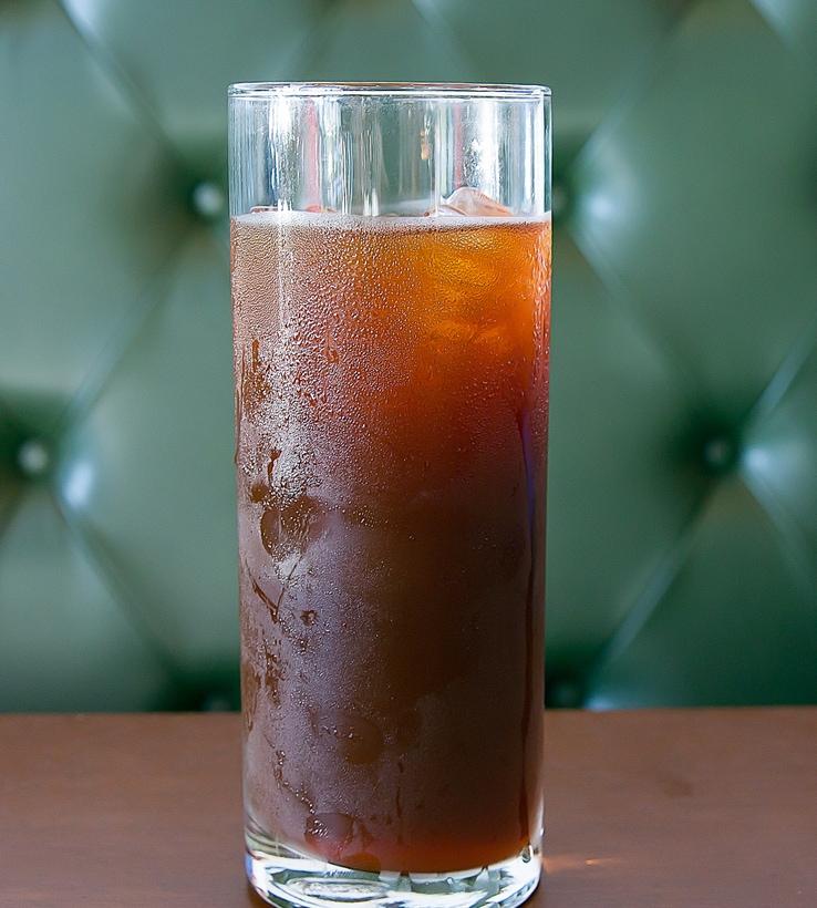 photo of an iced coffee